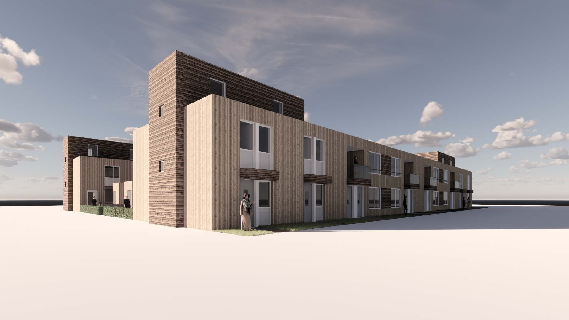 HSB ECO woningen bouwbedrijf van Gerven